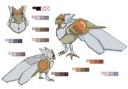 Ciel Chocobo palette concept for Final Fantasy Unlimited