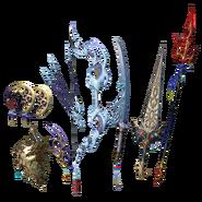 DFF2015 Weapon Pack III Bartz