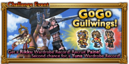 FFRK GoGo Gullwings! Event