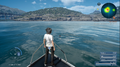 Fishing on the royal vessel in FFXV