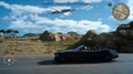 Flying Fortress over Leide from FFXV