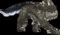 XII silver lobo render