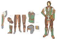 Cloth Armor FFXI Art