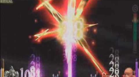 Dissidia Final Fantasy - Gabranth's EX Burst