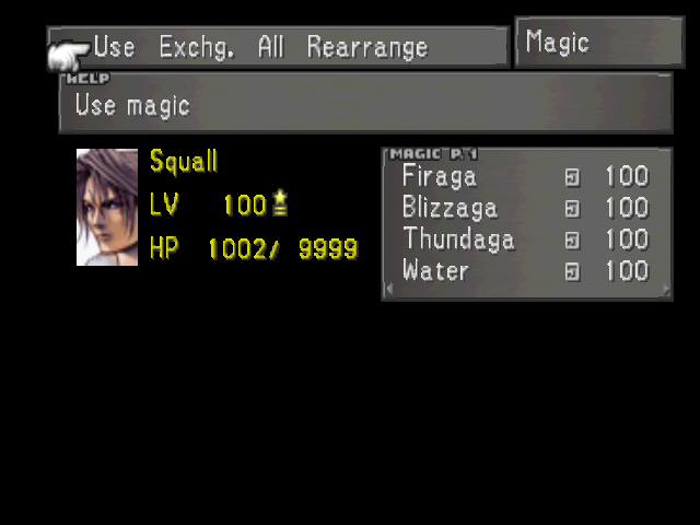 FFVIII Magic Menu 1.png