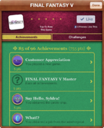 FFV iOS Achievements