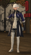 FFXIV Alphinaud HW Outfit