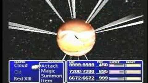 Final Fantasy VII - 61 - Sephiroth's Super Nova