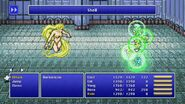 Rosa using Shell from FFIV Pixel Remaster