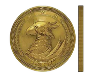 Sam's Coin artwork for Final Fantasy VII Remake