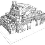 Sector 1 train station artwork for FFVII Remake.png