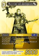 Warrior of Antiquity 2-074C from FFTCG Opus