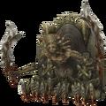 XII demon wall render