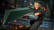 Ascension ready pose from FFVII Remake