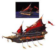 Brahne's Fleet FFIX Art 2