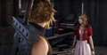 Cloud and Aerith in Sector 5 Church in FFVII Remake
