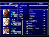 Menu (Final Fantasy VII)