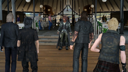 The Party and Ardyn FFXV