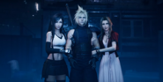Tifa Cloud and Aerith in FFVII Remake