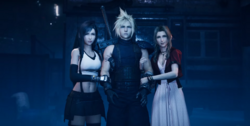 Tifa Cloud and Aerith in FFVII Remake.png