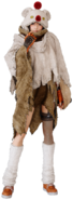 Yuffie moogle costume from FFVII Remake promo render