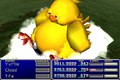 FFVII Fat Chocobo