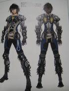 FFXIII-2 Noel ME3 Artwork