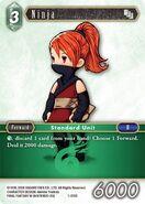 Ninja 1-078C from FFTCG Opus