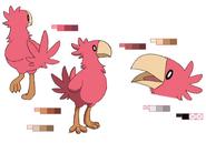 Red Chobi palette concept for Final Fantasy Unlimited