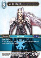Sephiroth 1-044R from FFTCG Opus