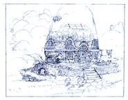Burmecia Unused FFIX Art 1