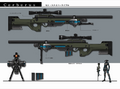 DG Sniper Rifle Artwork
