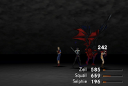 Diablos physical attack from FFVIII Remastered