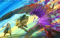 Final Fantasy Unlimited preliminary illustration 7