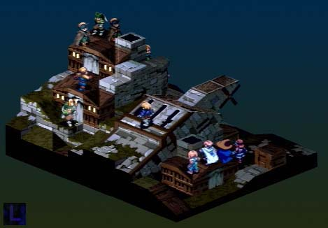 Final Fantasy Tactics/Catuse/Besrudio Rescue