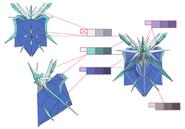 Shiva palette concept for Final Fantasy Unlimited