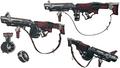 Wedges grenade launcher 2 artwork for FFVII Remake
