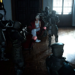 Imperial soldiers surround Lunafreya in FFXV.png