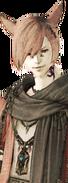 G'raha Tia Full Trust Portrait from Final Fantasy XIV