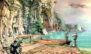 Lindblum Port Artwork