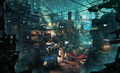 Wall Market artwork 2 for Final Fantasy VII Remake