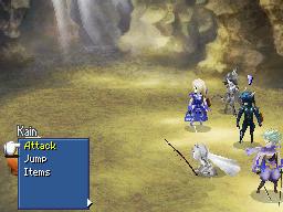 Final Fantasy IV 3D statuses