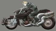Hardy-Daytona artwork for FFVII Remake