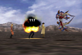 Jelleye uses Fire from FFVIII Remastered
