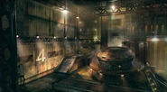 Mako Reactor 1 artwork 2 for Final Fantasy VII Remake