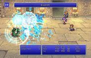 Maria using Blizzard IV from FFII Pixel Remaster