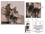 San d'Oria North Gate FFXI Art