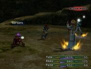 Silence status in ffx-2