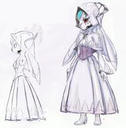 WoFF Masked Woman Artwork