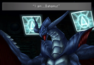 Bahamut boss from FFVIII Remastered
